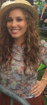 Haley Reinhart on April 10, 2015