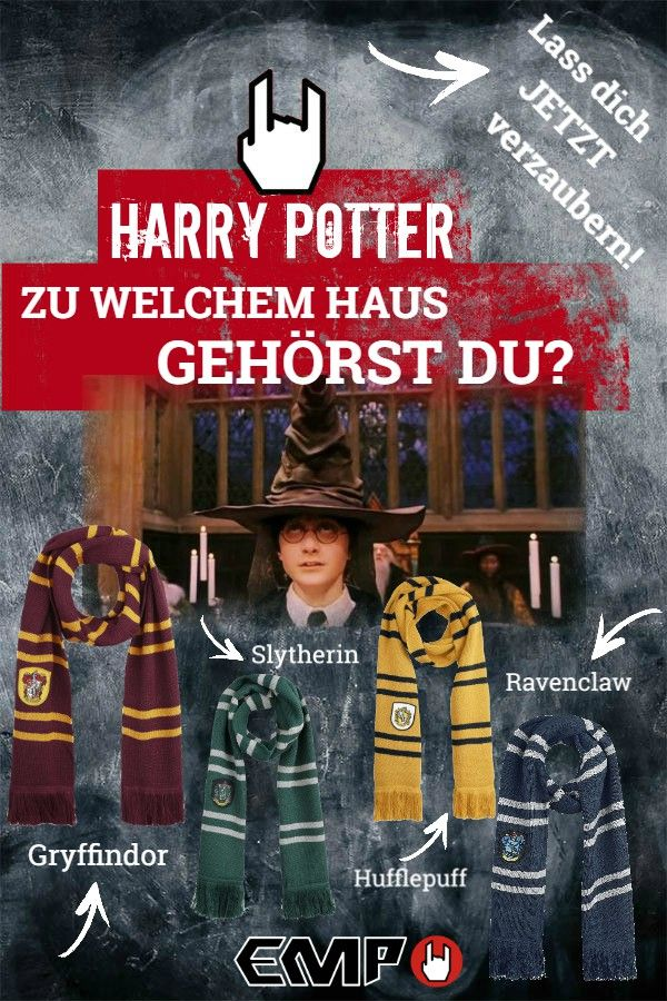 Harry Potter Zu Welchem Haus Gehorst Du Slytherin Hogwarts Gryffindor