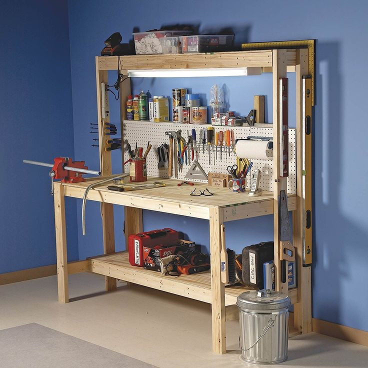 The 10 Best Garage Workbench Builds: 216 Best Garage Makeover Images On Pinterest