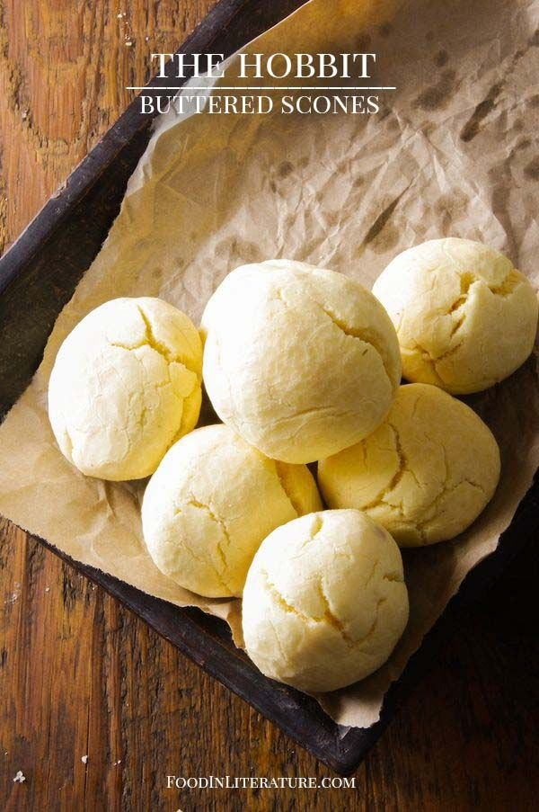 The Hobbit; An Unexpected Party; Buttered Scones - Food in Literature