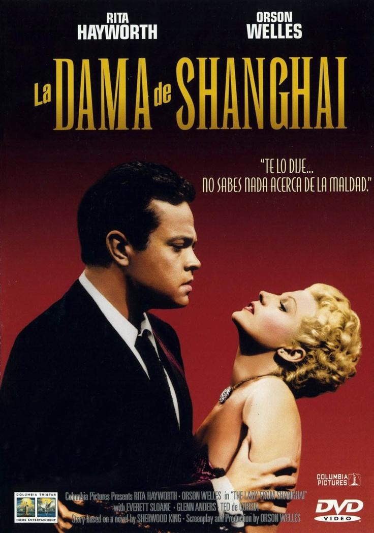 La dama de Shanghai (1947) EEUU. Dir: Orson Welles. Cine negro. Suspense. Drama - DVD CINE 909