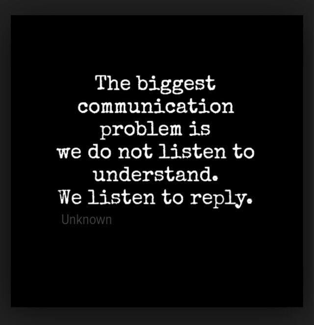 The biggest communication problem - http://quotespaper.com/inspirational-quotes/5122