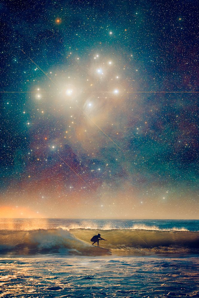 Another Pioneer Of Celestial Surfing Art Prints Available Here Or By Request More From This