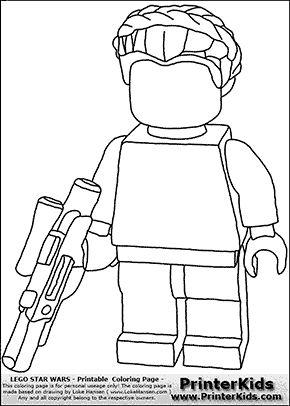 17 bedste billeder om farvel g colouring p pinterest for Lego luke skywalker coloring pages