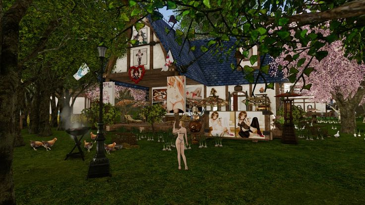 3번째 하우스. 나의 메인 케릭터용 1층짜리 집임.