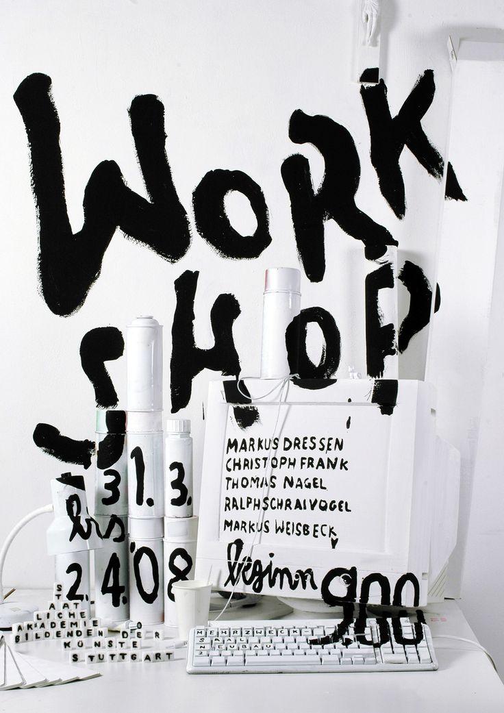 by katja schnoz #poster #type