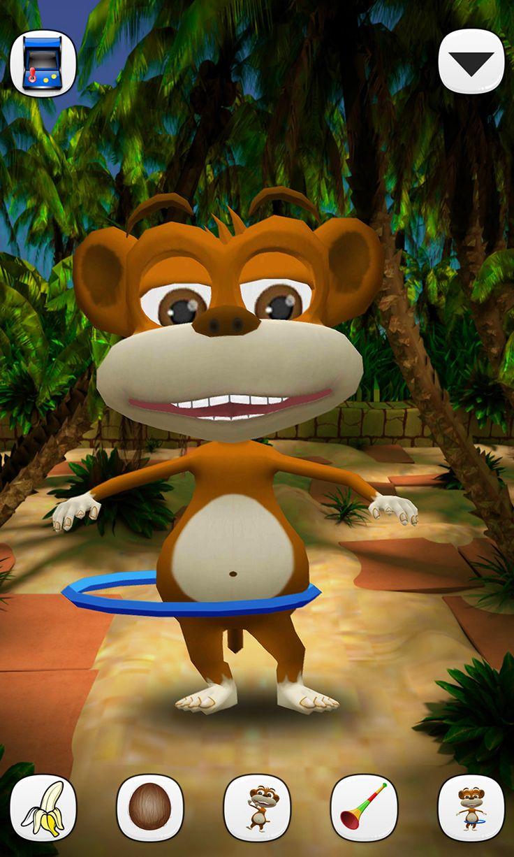 Talking Monkey Chimpy is a funny little monkey who loves