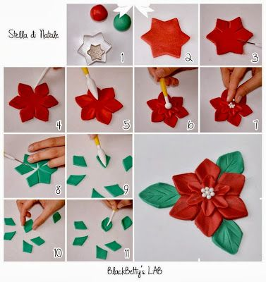 Christmas Fondant Tutorials : Easy Instructions - For all your cake decorating supplies, please visit craftcompany.co.uk