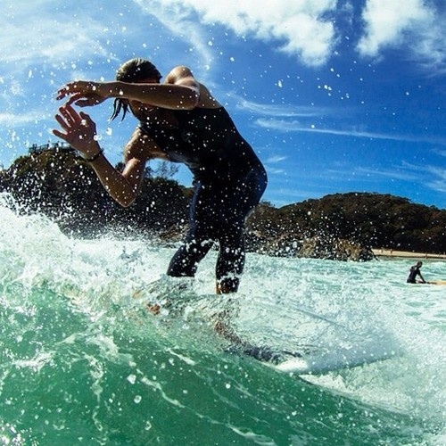 The pass at Byron Bay - by @ropephotography