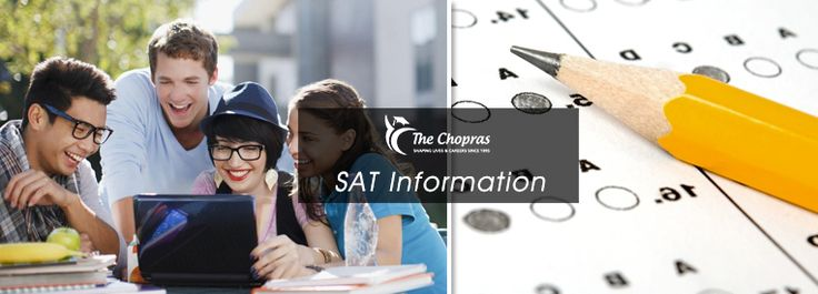 Scholastic aptitude test is something which all the students require to get studying in the best colleges abroad. Thus we talk about SAT Information and more for your benefit. https://goo.gl/j0VrEZ