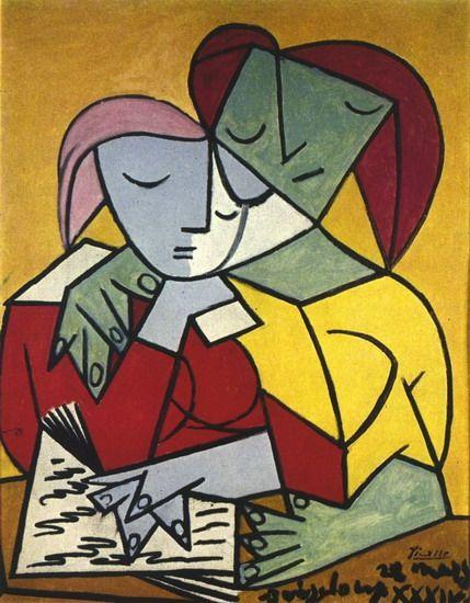 Pablo Picasso. Deux personnages 2. 1934