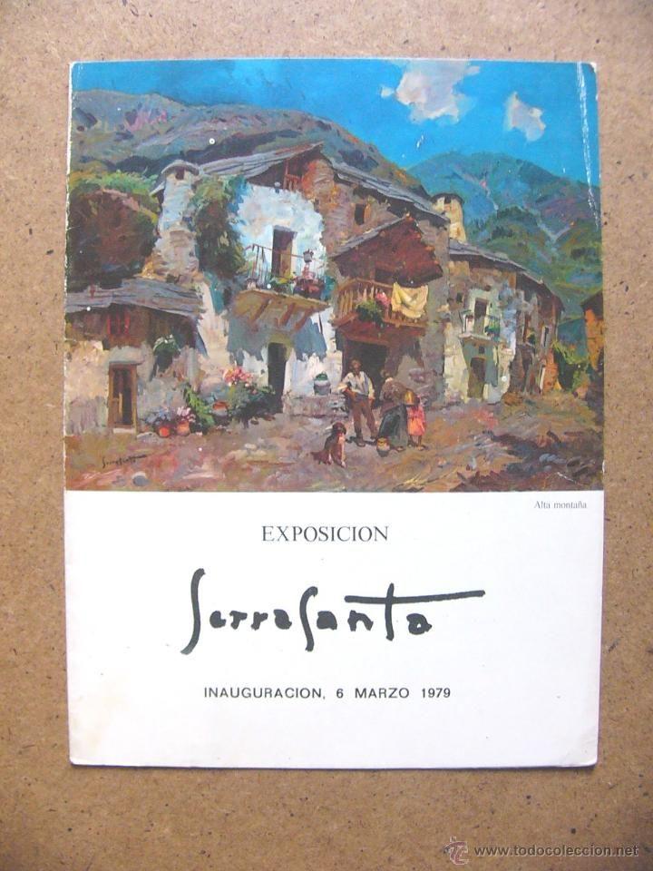 Catalogo de pintura al oleo del pintor jose serra santa for Catalogo de pinturas