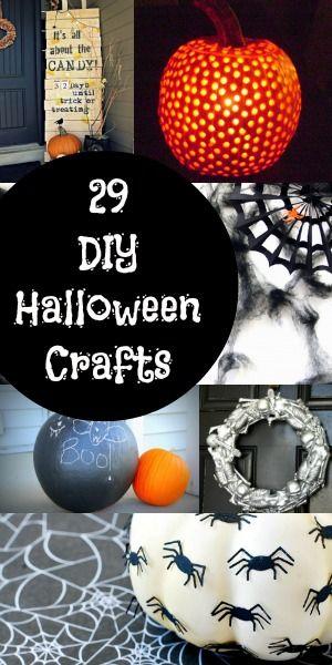29 DIY Halloween Crafts and Decor