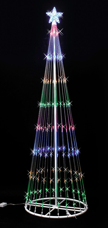 multi led lightshow tree christmas light showled christmas lightssimple