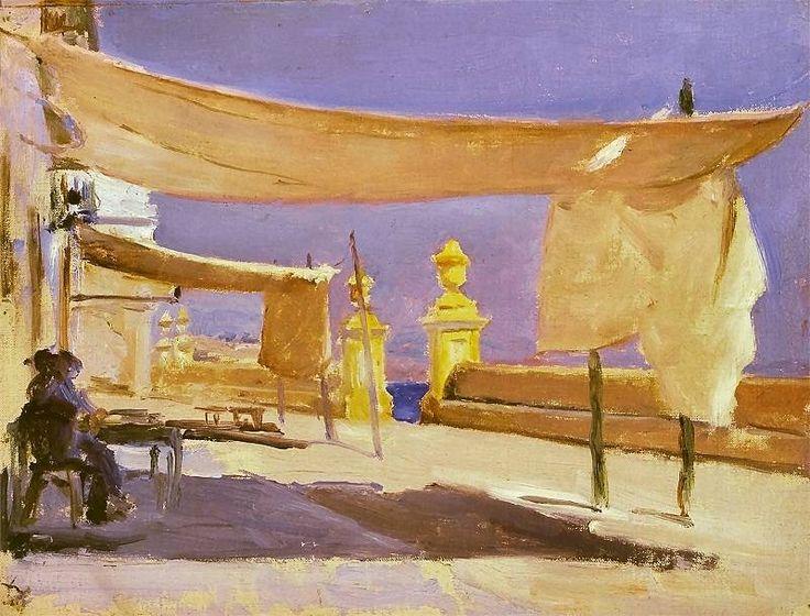 Jan Ciągliński - Algeciras, Hiszpania Ok. 1898