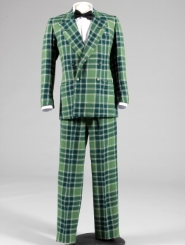 the Duke of Windsor's green tartan suit