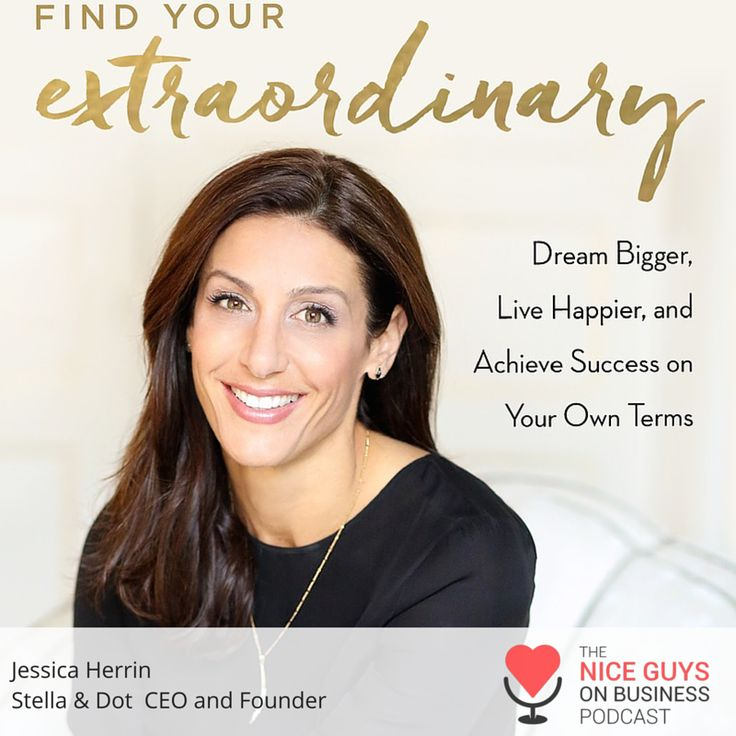 """Ep. 145: Stella & Dot Founder and CEO Jessica Herrin talks about her mega business  