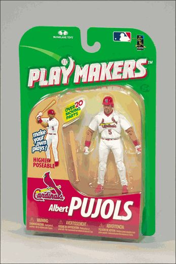 Albert Pujols (St. Louis Cardinals) MLB Playmakers 1 McFarlane