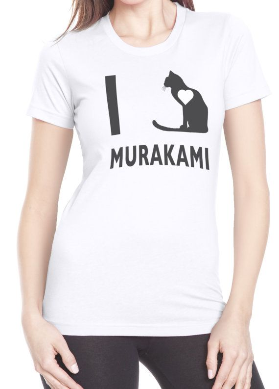 Ladies' I Love Haruki Murakami shirt
