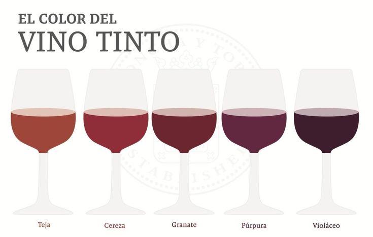 ¿Conoces tantos colores de una mismo vino?