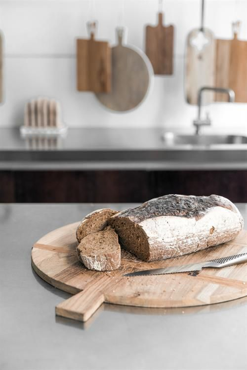 HK Living Breadboard reclaimed teak