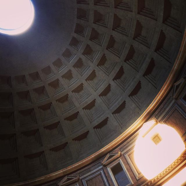 #rome #italy #pantheon #awesome by moaazhussam