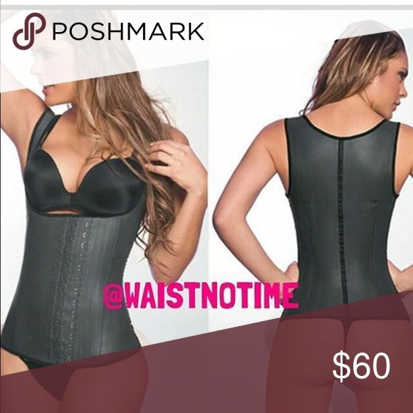 Latex vest waist trainer The High compression Waist Training Vest was specifically made to help reduce your waist, tummy, and back measurements! The full coverage vest also targets the upper back, love handles and the hard to reach under arm area. The full coverage vest will accelerate weight loss through high compression, perspiration and micro massage; all the while instantly lifting shaping and slimming your body! Perfect for getting that hour glass look! Wear the Vest for a minimum of…