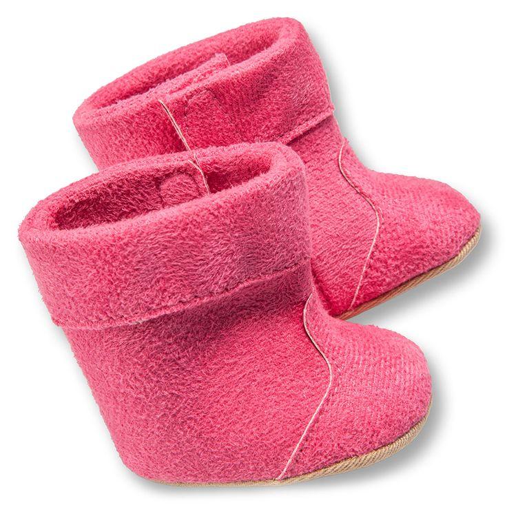 Heerlijk warme poppenschoentjes met klittenbandsluiting.Geschikt voor poppen van 38 tot 45 cm, zoals BABY born.Afmeting:  geschikt voor poppen van 38 – 45 cm - Poppenschoenen - Roze, 38-45 cm