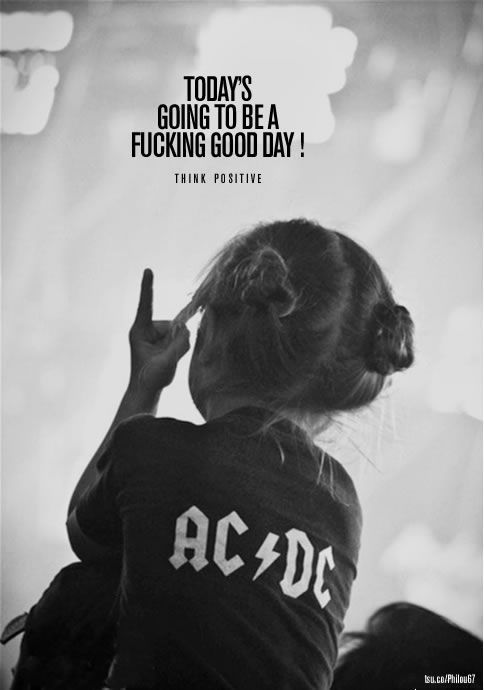 "#ACDC Today's going to be a fucking good day ! ""AC⚡️DC""… - http://sound.#saar.city/?p=27575"