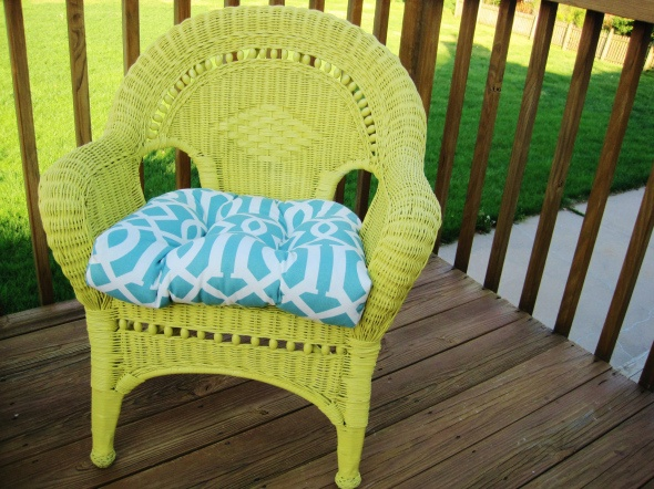 107 best Painted wicker furniture images on Pinterest Painted