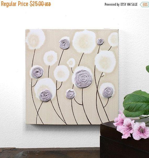Kleines Gemälde auf Leinwand für BabyMädchenKinderzimmer