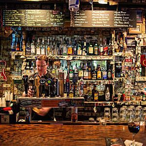 The Griffon, Charleston, South Carolina - 100 Best Bars in the South - Southernliving. You're Having: A PBR and a shot of whiskey18 Vendue Range Street