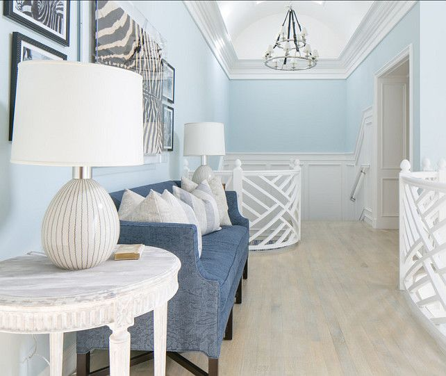 31 Stair Decor Ideas To Make Your Hallway Look Amazing: Blue In The Home: A Collection Of Ideas To Try About Home