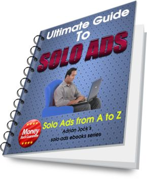 Ultimate Guide to Solo Ads is a detailed course on solo ads advertising. A must-read ebook for every email marketer who wants to radically improve his results. #SoloAds #EBook