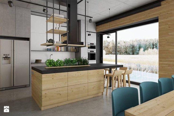 dom pasywny w Nałęczowie - Kuchnia, styl industrialny - zdjęcie od INSIDEarch