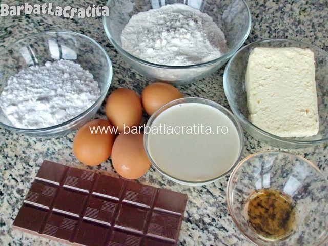 Paleuri fursecuri cu crema Ingrediente