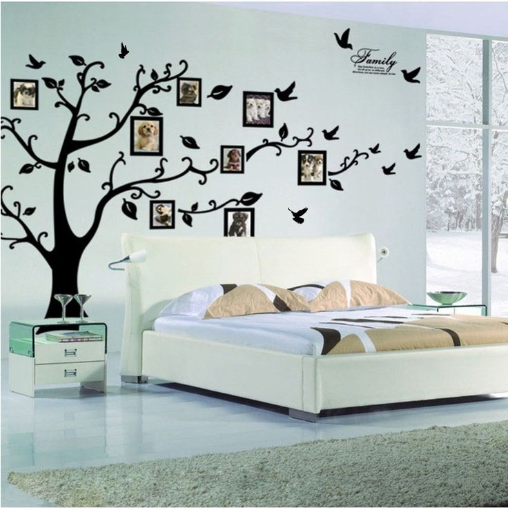 Promotion Large Family Tree Photo Frame Wall Sticker Removable Mural Room Decor #Unbranded #Modern