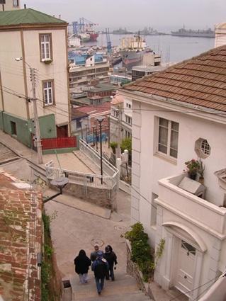 Subida Abtao, Valparaíso Chile