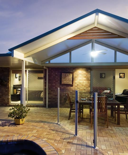 Stratco cooldek roofing for awnings carports pergolas for Carport deck