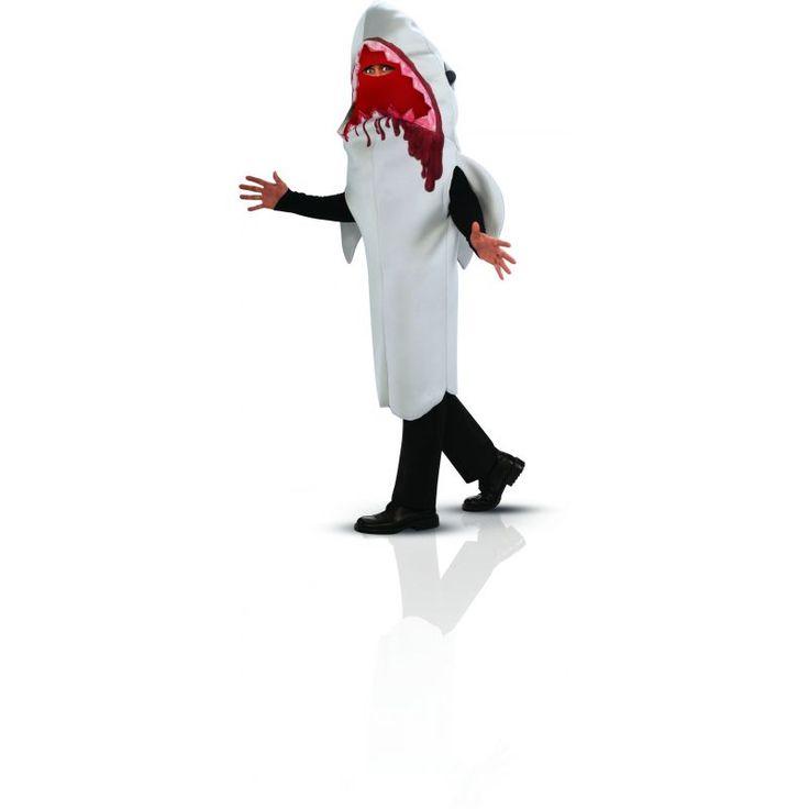 Ce costume de requin sera parfait pour s'amuser à rejouer des scènes mythiques du cinéma, ou pour une soirée halloween.