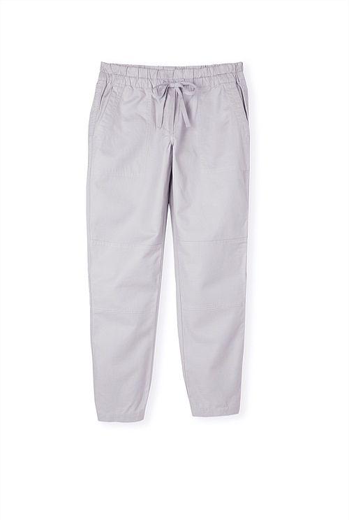 Shirred Elastic Pant