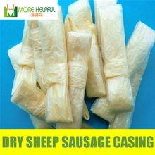 Dry sheep casing r 10pcbag 26 meter total 18mm-20mm natural sheep Sausage cover,Sausage skin, free shipping **  #KitchenDiningnBar