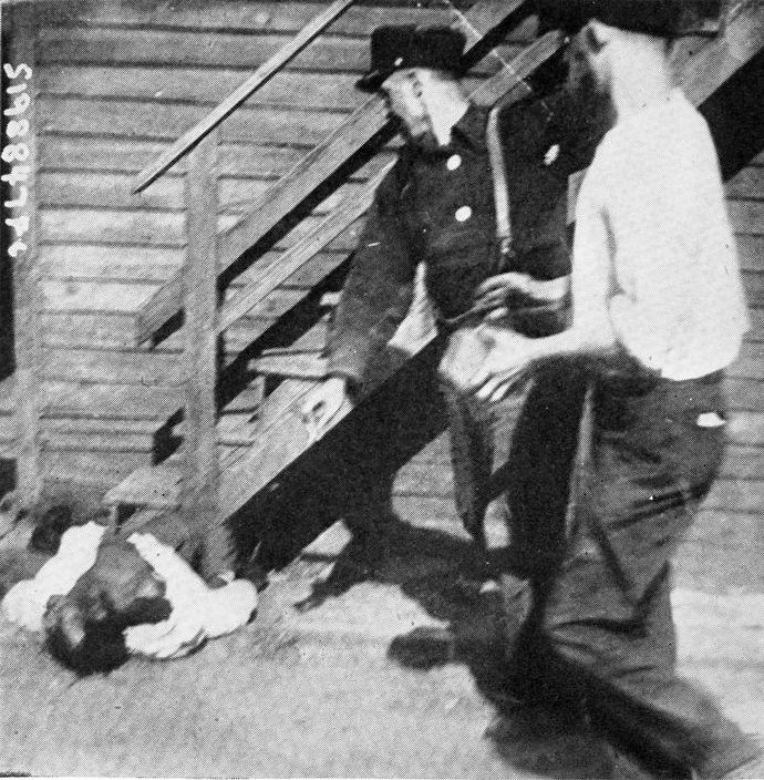 """""""An African American man was stoned to death by whites during the Chicago Race Riot of 1919.""""  United States President Woodrow Wilson pronounced white participants the instigators of the prolonged riots in Chicago and Washington, D.C."""