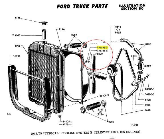 48 ford gas tank diagram
