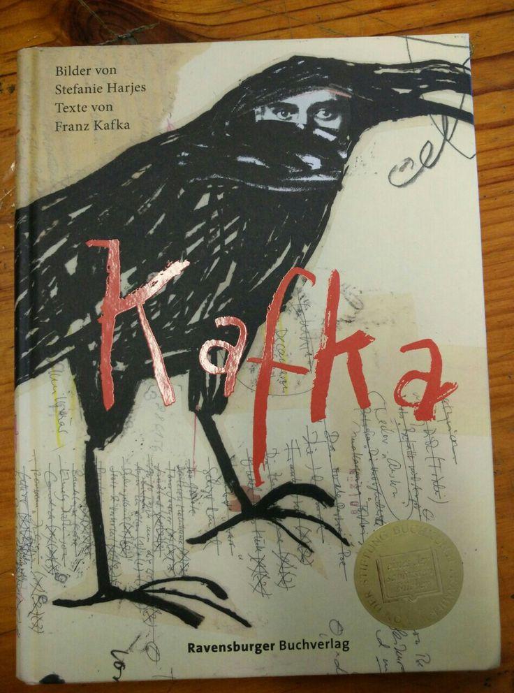 Libro Kafka. Ilustraciones de Stefanie Harjes