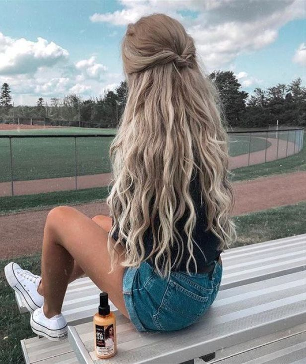 30 Cute And Easy Long Hairstyles For School Long Hair Styles Easy Hairstyles For Long Hair Hair Styles