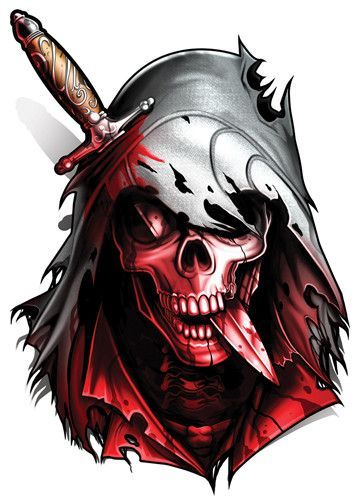 Assassins Creed - Game Over Temporary Tattoo