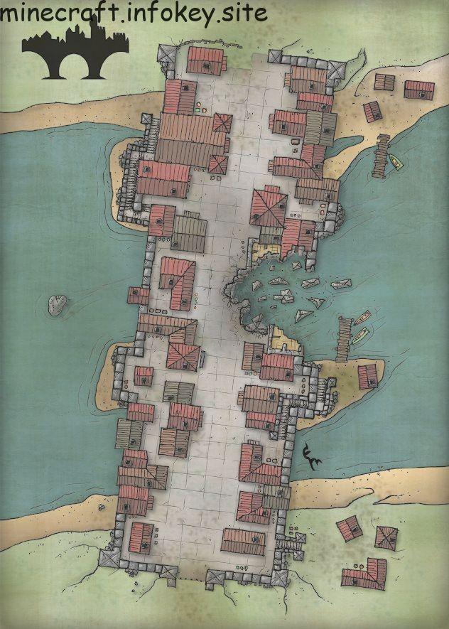 Minecraftpersonajes Fantasy City Map Fantasy World Map Dungeon Maps