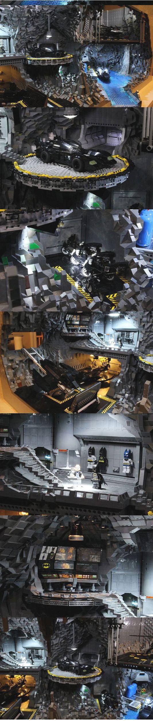 Massive Lego Batman Batcave