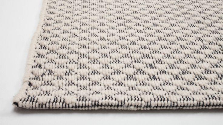furrow rug detail